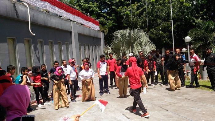 Semarak HUT RI, Sekretariat DPRD Medan Gelar Berbagai Lomba