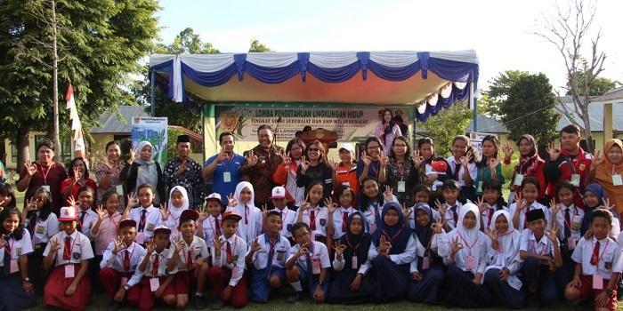 Peringati Hari Lingkungan Hidup se-Dunia, DLH Dairi Gelar Perlombaan Pengetahuan Lingkungan Hidup Tinggal SD dan SMP