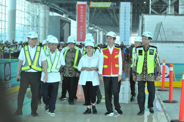 Selesai Desember, Presiden Jokowi: Bandara Internasional Yogyakarta Akan Terkoneksi Tol dan Kereta
