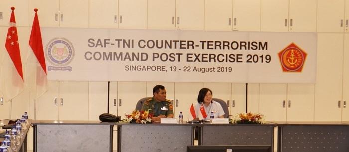 TNI-SAF Selenggarakan Latma Counter Terrorism Command Post Exercise Tahun 2019