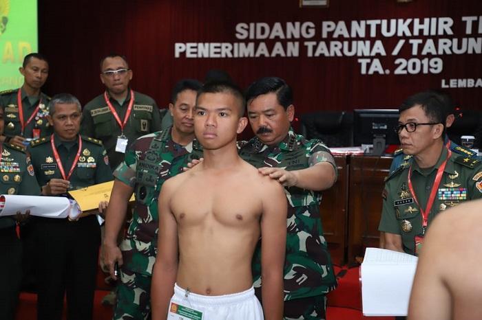 Panglima TNI Pimpin Sidang Pantukhir Akademi TNI TA 2019