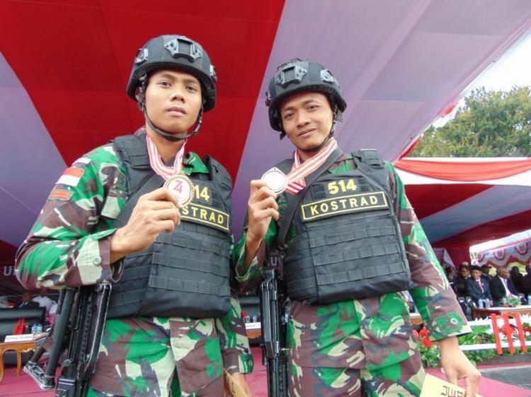 Prajurit Satgas Pamtas RI-PNG Yonif Raider 514/SY Torehkan Prestasi di Medan Operasi