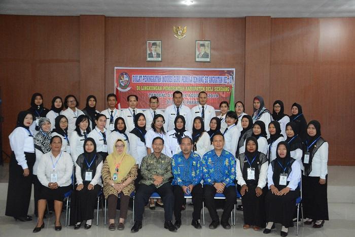 Diklat Induksi Guru Pemula Jenjang SD Angkatan II Pemkab Deli Serdang Dibuka