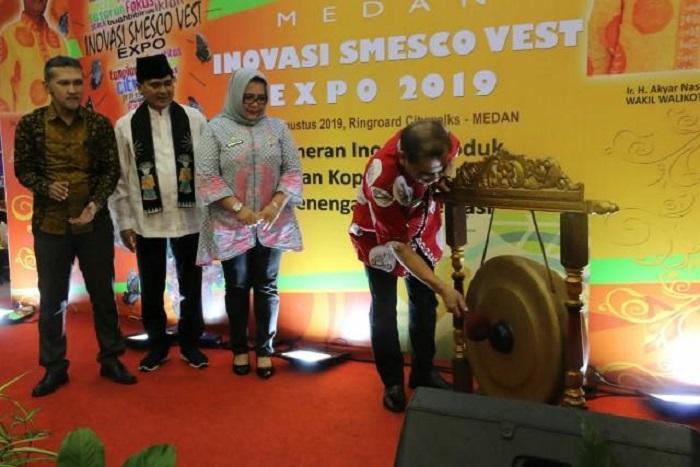 Pameran Medan Inovasi Smesco Vest Expo 2019 Resmi Dibuka