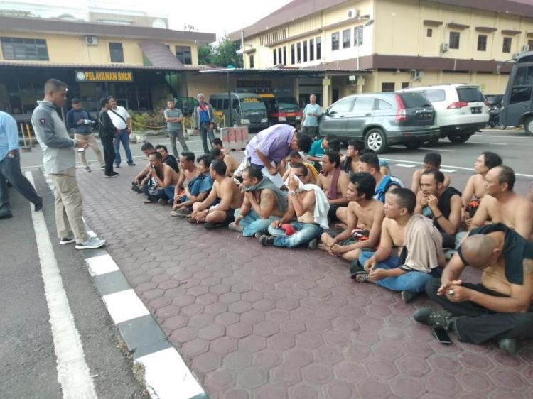 Bentrok di Jalan HM Yamin Medan, 15 Orang Ditetapkan Tersangka