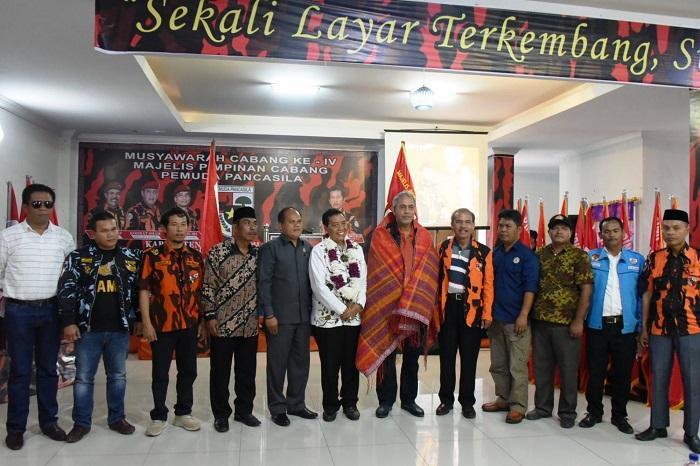 Muscab ke-IV MP PP, Wabup Humbahas Minta Ormas Berperan Bangkitkan Semangat Nasionalisme