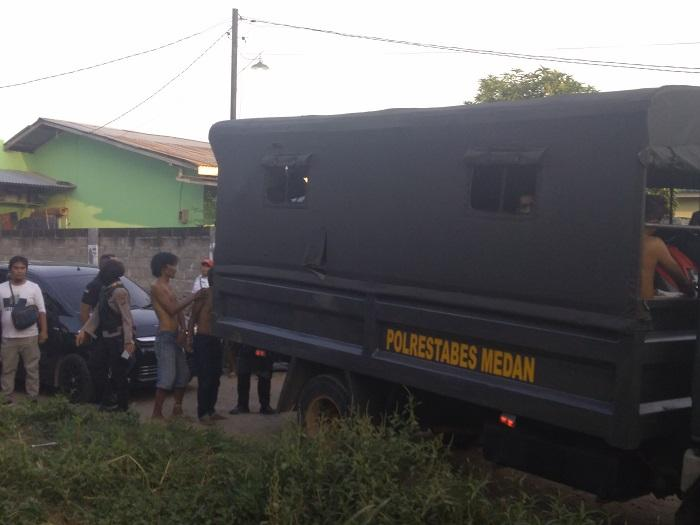 Grebek Kampung Narkoba di Jermal 15, Ini Pesan Kasat Sabhara Polrestabes Medan