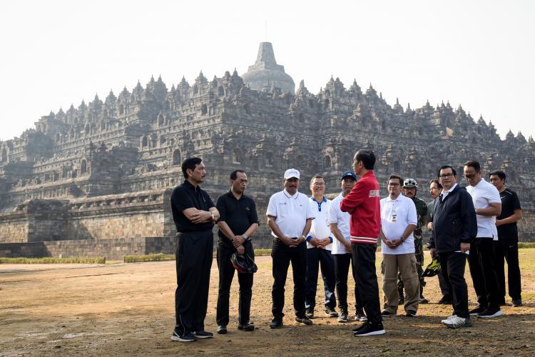 BIY Segera Beroperasi, Presiden Jokowi Minta Pengembangan Destinasi Candi Borobudur Dipercepat
