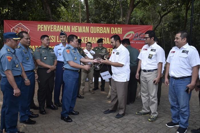Mabes TNI Terima 20 Ekor Sapi Hewan Kurban