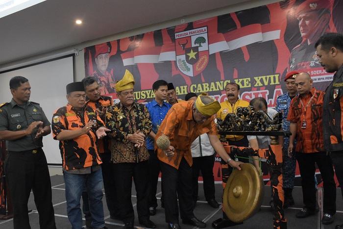 Wakil Bupati Hadiri Muscab ke-XVII Pemuda Pancasila Kabupaten Deli Serdang