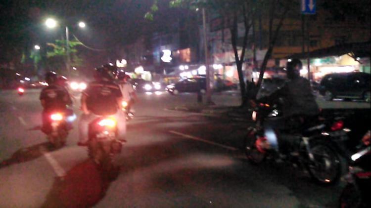Antisipasi Begal, Polsek Medan Baru Patroli di Daerah Rawan Kriminalitas