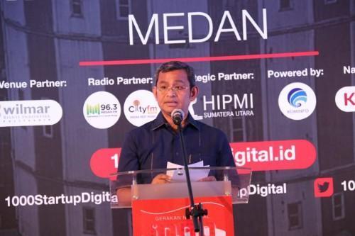 1000 Startup Digital Diharapkan Dukung Pembanguan Kota Medan