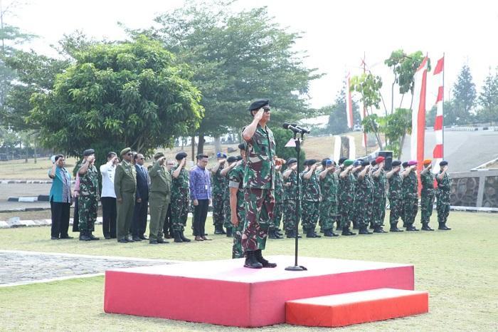 Kerjasama Pasukan Pemelihara Perdamaian Indonesia dan Ethiopia di Markas PMPP TNI