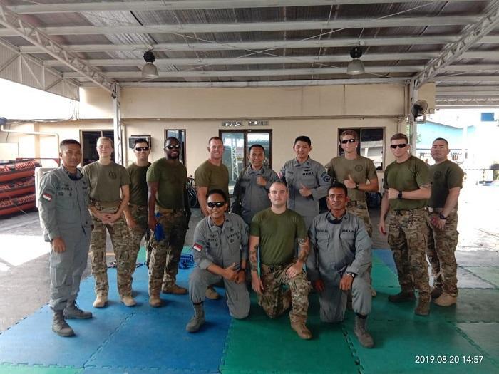 Pengawak Bakamla RI Latihan VBSS Bersama Philipine Coast Guard