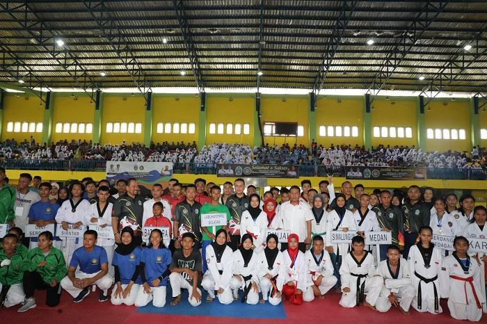 Kejuaran Taekwondo Piala Gubernur Sumut 2019, Persiapan Menuju POPNAS XV di Papua