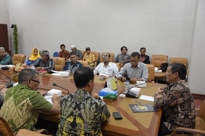 Wabup Terima Audiensi Pengurus Majelis dan Dewan Kesenian Deli Serdang