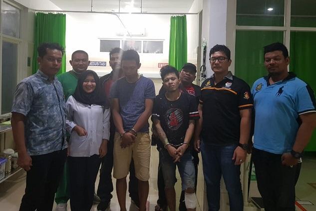Melarikan Diri Saat Ditangkap, Seorang Pelaku Curanmor Ditembak Petugas Polsek Medan Baru