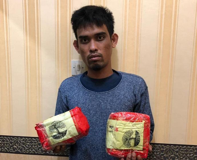 Warga Batubara Bawa 1,9 Kilo Sabu Terpaksa Ditembak Poldasu