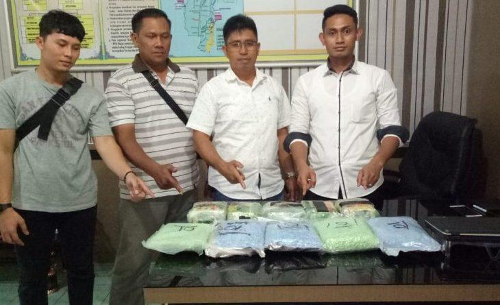 Polres Binjai Amankan 5 Kilo Sabu dan 24.725 Butir Pil Ekstasi di Loket Bus Bintang Utara