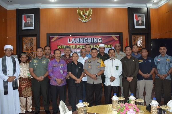 Polres Langkat Launching Zona Integritas Menuju WBK dan WBBM