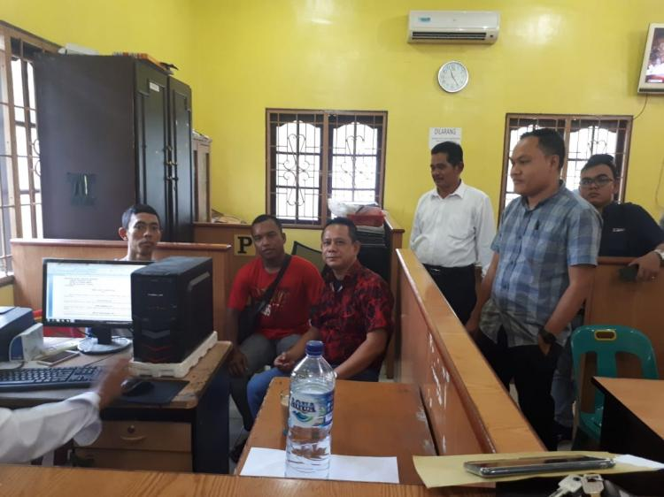 Buat Laporan Palsu, Taufik Terancam Hukuman Tujuh Tahun Penjara