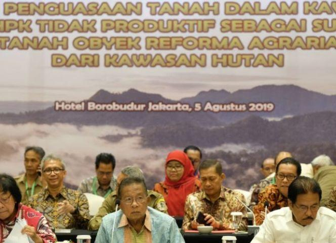 Lewat Program TORA, Pemerintah Siapkan 938 Ribu Hektar Tanah HPK Untuk Rakyat
