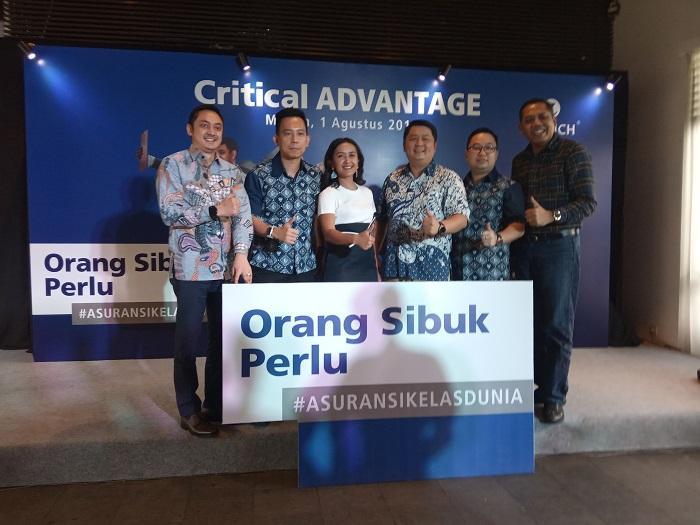 Zurich Critical Advantage Hadir di Medan, Asuransi Kelas Dunia untuk Kita Yang Sibuk