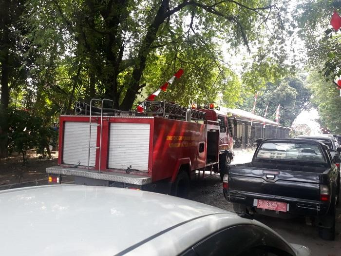 Kantor BPDASHL di Jalan SM Raja Medan Nyaris Terbakar