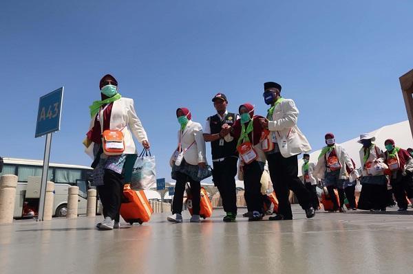Tepat di Hari Kemerdekaan RI, 13 Kloter Awali Kepulangan Jemaah Haji Asal Indonesia