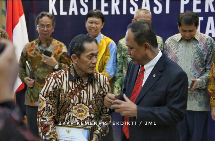 Hasil Klasterisasi, Inilah Peringkat Perguruan Tinggi di Indonesia