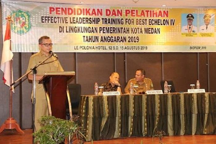 BKDPSDM Pemko Medan Gelar Diklat Kepemimpinan Eselon IV