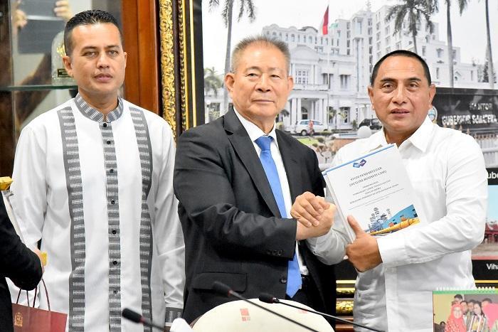 PT Hanlim Power Indonesia Sambangi Pemprov Sumut, Gubernur Setujui Tawaran Listrik Korsel