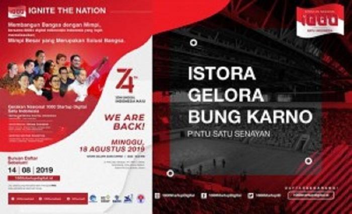 1000 Pelaku Startup Digital Akan Berkumpul di Istora Senayan Jakarta 18 Agustus Mendatang