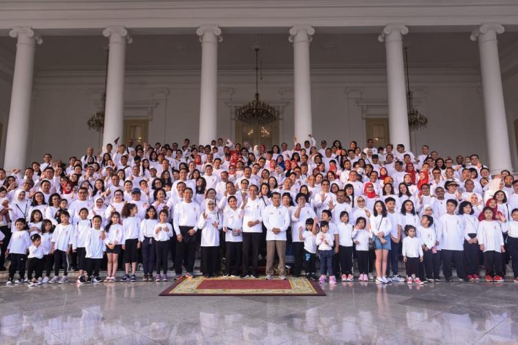 Sambil Gathering, Anggota Kabinet Kerja Galang Donasi Untuk Korban Gempa Banten
