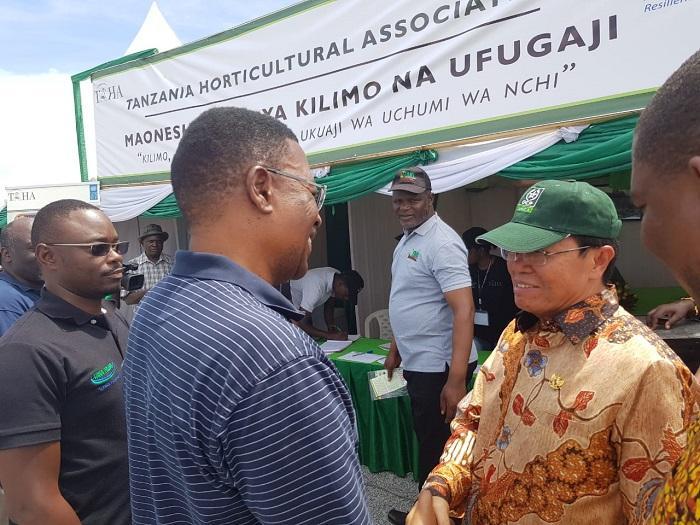 Dubes RI Dar esSalaam Menjadi Tamu Kehormatan Ekshibisi Pertanian Terbesar di Tanzania