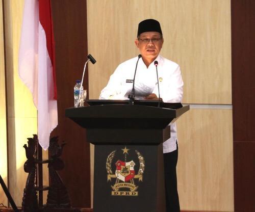 Walikota Sampaikan Nota Pengantar Ranperda Tentang Perubahan Perda RTRW