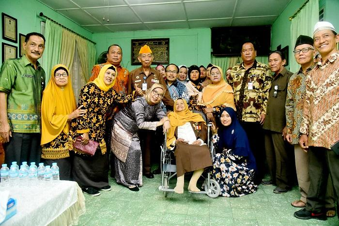 HUT RI ke-74, Pemprov Sumut Sambangi Rumah Para Pejuang Kemerdekaan