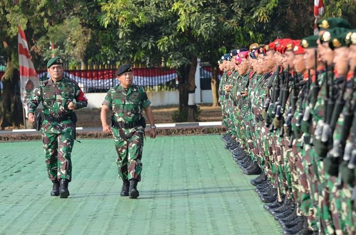Latihan Gabungan Uji Kesiapsiagaan TNI untuk Kampanye Militer