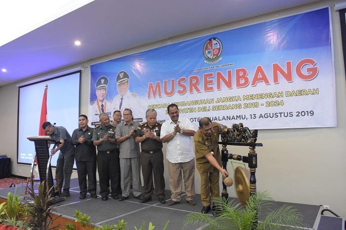 Pemkab Deli Serdang Gelar Musrenbang RPJMD 2019-2024