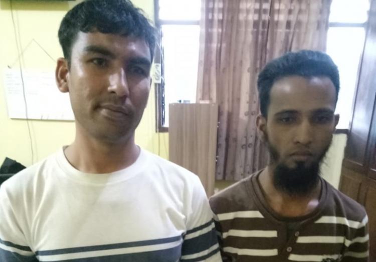 Pakai Sabu, WNA Asal Myanmar Dibekuk Polsek Medan Baru di Simpang Selayang