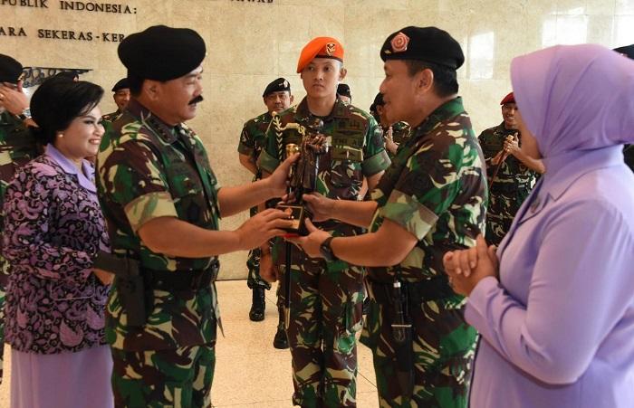 Sertijab Koorsahli Panglima TNI Digelar di Mabes Cilangkap