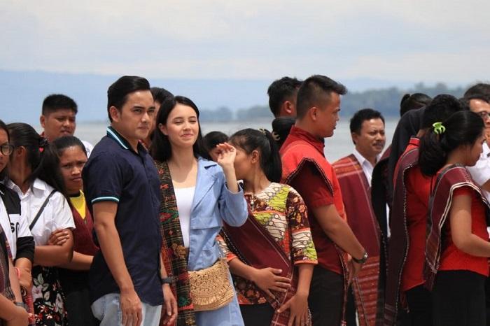 Keindahan Pantai Pasir Putih di Tobasa Jadi Tempat Syuting Film Layar Lebar