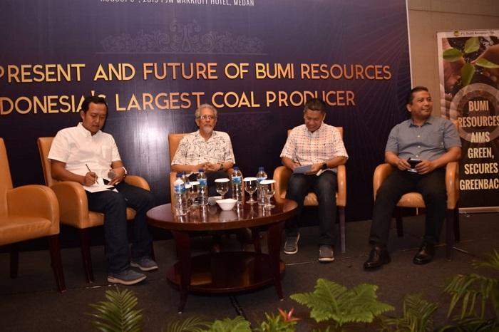 BUMI Resources Gelar Seminar Bersama HIPMI Sumut, Komitmen Jadi Produsen Batubara Kelas Dunia