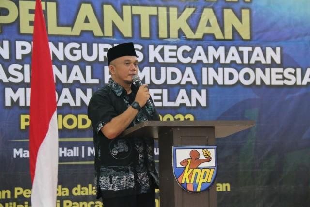 Walikota Medan Berharap Dewan Pengurus KNPI Amanah Menjalankan Tugas