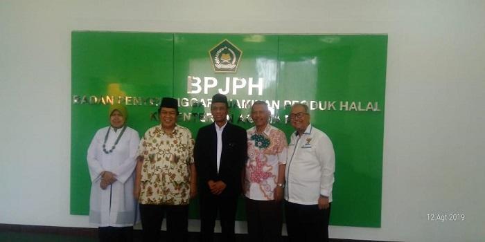 Sambangi BPJPH, Muhammadiyah Siap Berperan sebagai Lembaga Pengawas Halal