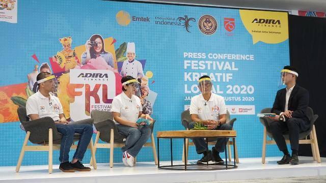 HUT ke 30 Adira Finance, Festival Kreatif Lokal 2020 Didukung Kemenparekraf RI Bangkitkan UKM di Indonesia