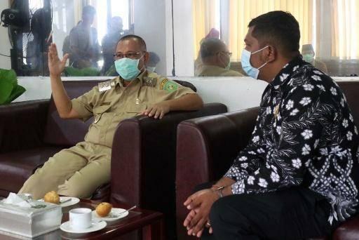 PHDI Medan Silaturrahim Dengan Plt Wali Kota Medan