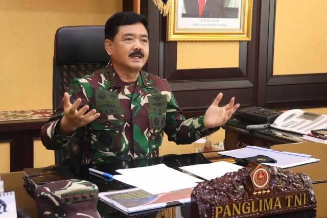 Panglima TNI: Penanganan Pandemi Covid-19 Ditangani dengan Extra Ordinary