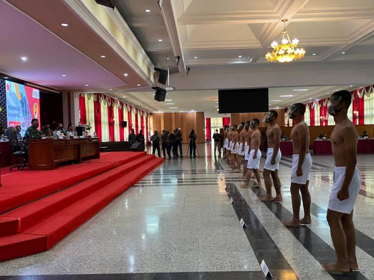 Panglima TNI Pimpin Sidang Pantukhir Taruna Akademi TNI TA 2020