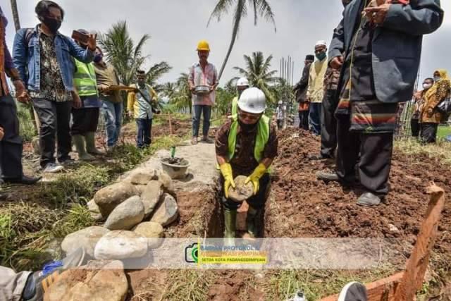 Pembangunan Rumah Produksi Olahan Salak Momentum Pertahankan Predikat Padangsidimpuan sebagai 'Kota Salak'